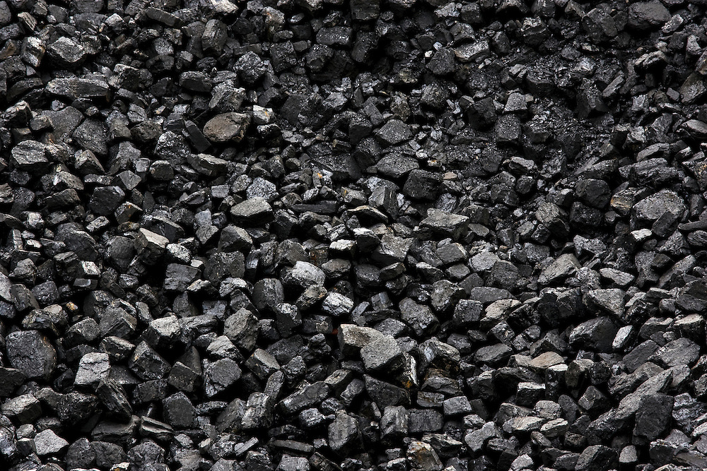 Coal supply for locomotives at Toddington Railway Station in Gloucestershire, United Kingdom