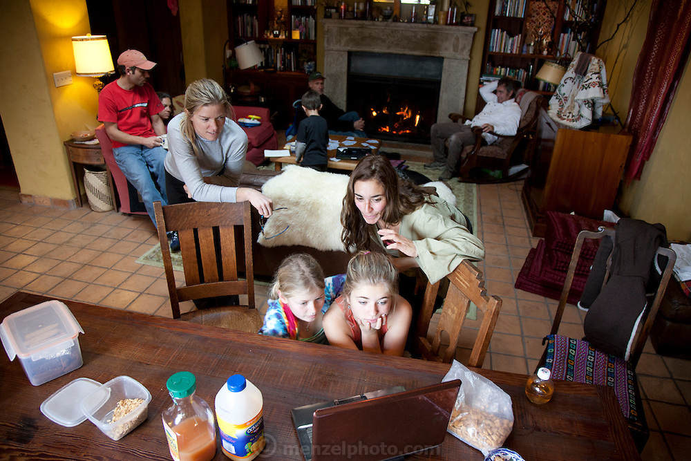 Day after Thanksgiving at Menzel and D'Aluisio's in the Napa Valley, California.