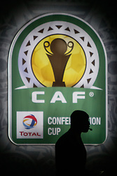 March 21, 2018 - Cairo, Egypt - CAF Deputy General Secretary Anthony Baffoe during The draw of the group stage of Total CAF Champions League and 2nd 1/16th round of the Total CAF Confederation Cup conduct on Wednesday, 21 March 2018 in Cairo, Egypt. (Credit Image: © Islam Safwat/NurPhoto via ZUMA Press)