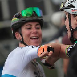 22-08-2020: Wielrennen: NK vrouwen: Drijber<br /> Annemiek Van Vleuten (Netherlands / Team Mitchelton Scott) en Anna van der Breggen