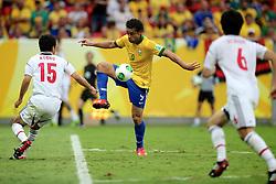 Fred durante a partida contra o Japão, válida pela primeira rodada da Copa das Confederações, no Estádio Nacional Mané Garrincha, em Brasília. FOTO: Jefferson Bernardes/Preview.com
