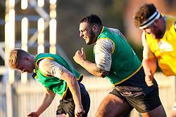 Kai Owen of England Under 20s  - Mandatory by-line: Robbie Stephenson/JMP - 08/01/2019 - RUGBY - Bisham Abbey National Sports Centre - Bisham Village, England - England Under 20s v  - England Under 20s Training