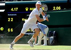 July 15, 2018 - Angleterre - Wimbledon - Kevin Anderson Afrique du sud (Credit Image: © Panoramic via ZUMA Press)