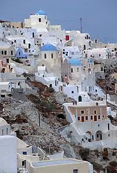 Houses in Santorini, Greece