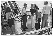 LACHLAN MURDOCH, ANNA MURDOCH, Party in the harbour on Rupert Murdoch's yacht.  Forbes weekend, TANGIER 1989
