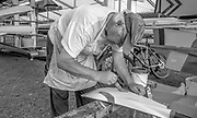 Henley on Thames. United Kingdom. John HOPPER, painting, Cornell University  USA. Blades. Saturday 25.06.2016. 2016 Henley Royal Regatta, Henley Reach.   [Mandatory Credit Peter Spurrier/ Intersport Images]