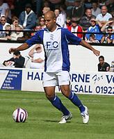 Photo: Mark Stephenson.<br /> Walsall v Birmingham City. Pre Season Friendly. 28/07/2007.Birmingham's Mehdi Nafti