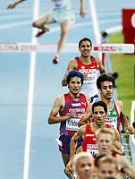 Friidrett, 1. august  2010 ,<br /> EM Barcelona<br /> <br /> European Athletics Championships<br /> Barcelona<br /> <br /> Bjørnar Ustad Kristensen , Norge finalist 3000 m hinder<br /> <br /> Foto: Anders Hoven , Digitalsport