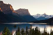 Wild Goose Island, Glacier National Park, Montana.