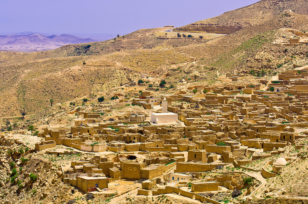 Village of Toujane, Tunisia