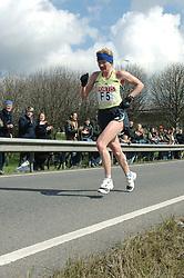 09-04-2006 ATLETIEK: FORTIS MARATHON: ROTTERDAM<br /> De 26e editie van de marathon van Rotterdam - Victoria Klimina (RUS)<br /> ©2006-WWW.FOTOHOOGENDOORN.NL