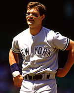 CHICAGO - 1988:  Don Mattingly of the New York Yankees looks on during an MLB game versus the Chicago White Sox during the 1988 season at Comiskey Park in Chicago, Illinois. (Photo by Ron Vesely) Subject:   Don Mattingly