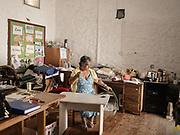 Wanda the last artisan working on the Island