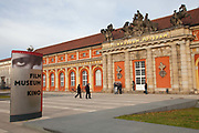 Exterior shot of the Film Museum, Potsdam, Brandenburg, Germany.