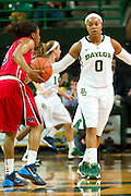 WACO, TX - DECEMBER 18: Odyssey Sims #0 of the Baylor Bears defends against the Mississippi Lady Rebels on December 18 at the Ferrell Center in Waco, Texas.  (Photo by Cooper Neill) *** Local Caption *** Odyssey Sims