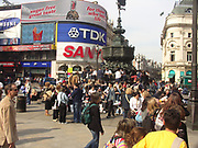 A51PCE Piccadilly Circus Eros statue London England