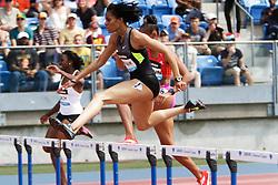 Samsung Diamond League adidas Grand Prix track & field; women's 400 meter hurdles, Kaliese Spencer, JAM