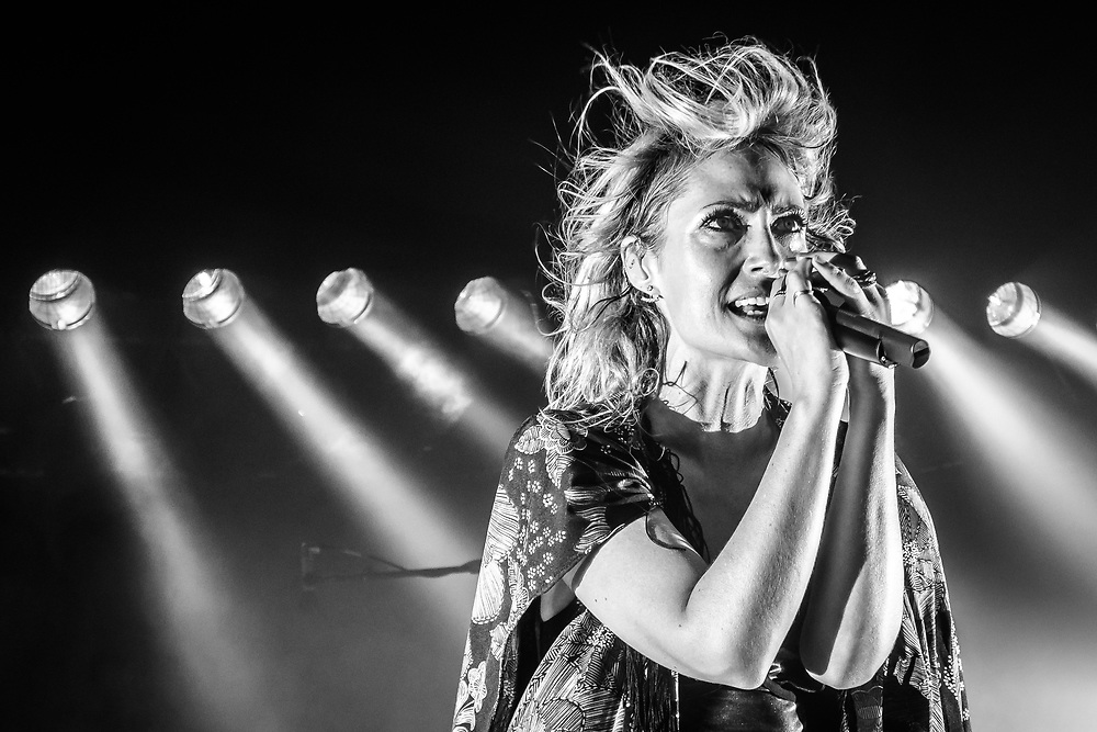 Emily Haines of Canadian indie-rock band Metric at Theaterfabrik in Munich