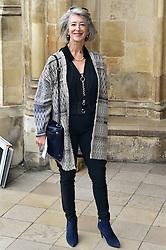 Maureen Lipman  beim Gedenkgottesdienst f¸r Terry Wogan im Westminster Abbey in London / 270916<br /> <br /> ***Memorial service for Terry Wogan at Westminster in London, September 27th, 2016***