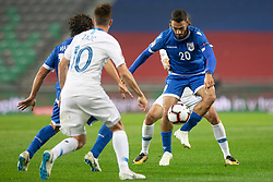 Grigoris Kastanos of Cyprus during football match between National Teams of Slovenia and Cyprus in Final Tournament of UEFA Nations League 2019, on October 16, 2018 in SRC Stozice, Ljubljana, Slovenia. Photo by Urban Urbanc / Sportida
