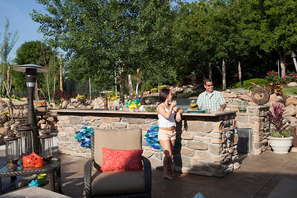 15 May 2012- Mike Cassling residence is photographed with designer, Anita Wiechman, ASID for Omaha Magazine.