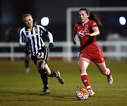 - Mandatory by-line: Paul Knight/JMP - Mobile: 07966 386802 - 23/02/2016 -  FOOTBALL - Stoke Gifford Stadium - Bristol, England -  Bristol City Women v Notts County Ladies - Pre-season friendly