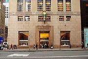 USA, NY, New york city, Manhattan, Tiffany & Co