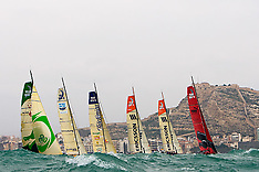 Alicante: Start 1st leg of the Volvo Ocean Race