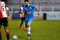 Jordan Williams. Woking FC 1-4 Stockport County FC. Vanarama National League. KIngfield Stadium. 30.1.21
