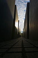 Memorial to the murdered Jews of Europe.Berlin.