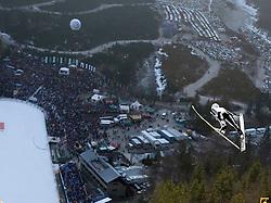 17.03.2012, Planica, Kranjska Gora, SLO, FIS Ski Sprung Weltcup, Team Skifliegen, im Bild Jakub Janda (CZE),  during the FIS Skijumping Worldcup Flying Hill Team, at Planica, Kranjska Gora, Slovenia on 2012/03/17. EXPA © 2012, PhotoCredit: EXPA/ Oskar Hoeher.