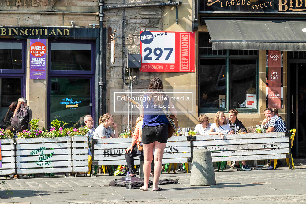 Everybody has to start somewhere<br /> <br /> The Edinburgh Festival Fringe attracts all sorts of performers and audiences while the city continues to operate