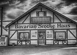 The Bavarian Smoke Haus opened in 1996 as an extension of  Dan's County Meats, our USDA inspected facility. Dan's  has been providing quality fresh and specialty meats in the New Melle area for generations.<br />  <br /> Owners, Jim & Karen Joerling, have perfected a number of award winning smoked and specialty meats, including Bratwursts, Italian Sausage, Summer Sausage, Snack Stix, Five different  Bacons and  Smoked Hams.<br />  <br /> Each recipe is the result of tried and true seasoning combinations and preparation practices that guarantee consistent, flavorful results each and every batch.<br />  <br /> The next time you have a craving for a true German-style sausage or mouth-watering smoked pork or poultry, the Bavarian Smoke Haus is the place to go.<br />  <br /> Just stepping in the door is like taking a trip to Germany. Come and experience the sites, sounds, and aromas of a true German meat shop... right here in New Melle, Missouri.