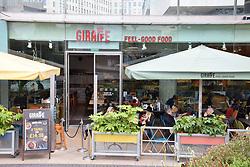 Giraffe restaurant, South Bank, London April 2019