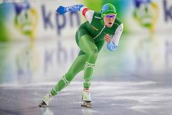 27-10-2017 NED: KPN NK Afstanden, Heerenveen<br /> Jorien ter Mors heeft bij de NK afstanden haar Nederlandse titel op de 500 meter geprolongeerd. De 27-jarige schaatsster uit Twente zegevierde in Heerenveen in een tijd van 38,51 seconden.