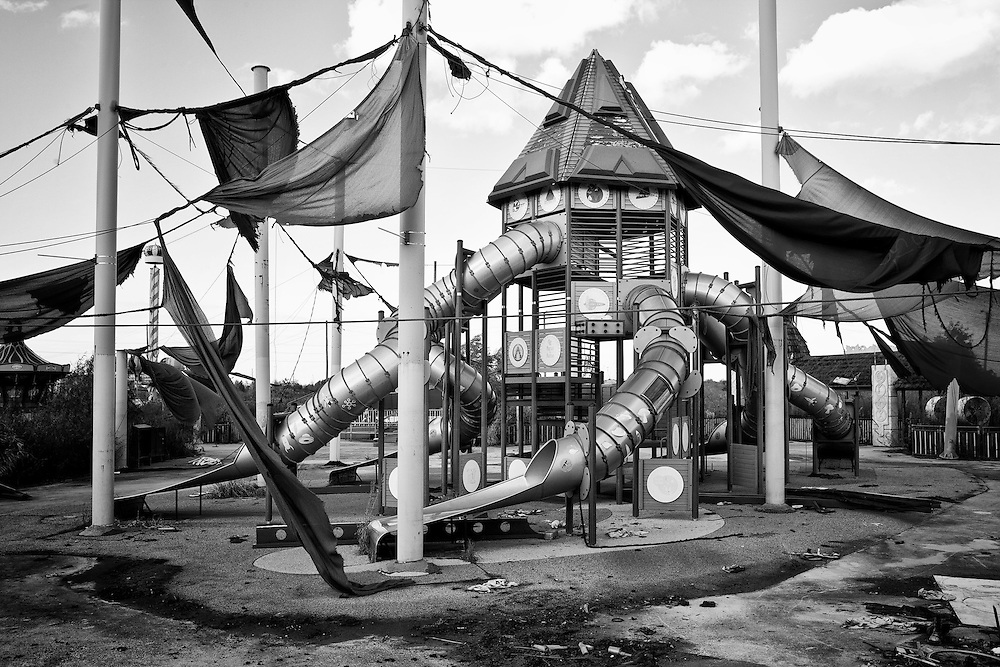 Tweety's Tweehouse at Six Flags in East New Orleans - five years later after Hurricane Katrina.