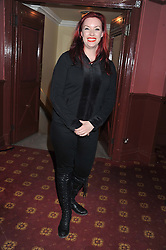 SHARON MARSHALL at the opening night performance of The Rocky Horror Show, This performance is to celebrate the 40th Anniversary UK Tour, at The New Wimbledon Theatre, Wimbledon, London SW19 on 21st January 2013.