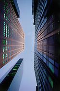 Madison Avenue, Sony Building, Looking up, Designed by Philip Johnson & John Burgee, Manhattan,  NYC, NY