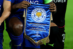 Leicester City v Club Brugge pennant - Mandatory by-line: Matt McNulty/JMP - 22/11/2016 - FOOTBALL - King Power Stadium - Leicester, England - Leicester City v Club Brugge - UEFA Champions League