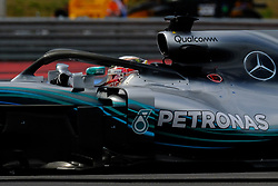 June 23, 2018 - Le Castellet, Var, France - Mercedes 44 Driver LEWIS HAMILTON (GBR) in action during the Formula one French Grand Prix at the Paul Ricard circuit at Le Castellet - France. (Credit Image: © Pierre Stevenin via ZUMA Wire)