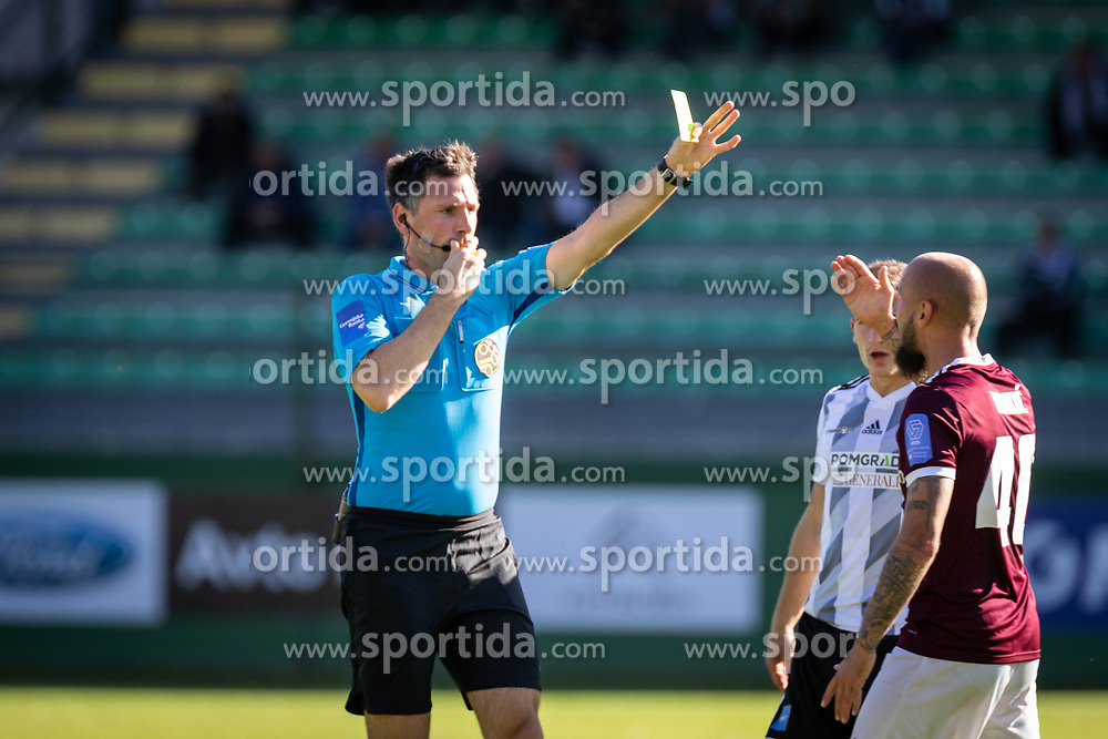 during football match between NŠ Mura and Nk Triglav in 14th Round of Prva liga Telekom Slovenije 2019/20, on October 19, 2019 in Fazanerija, ;urska Sobota, Slovenia. Photo by Blaž Weindorfer / Sportida