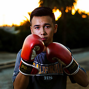161103 Boxing, La Habra, Boxing Club<br /> Portrait, <br /> © Daniel Malmberg/Sports Shooter Academy 13