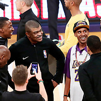 25 December 2017: referee Tony Brothers (25) is seen during the Minnesota Timberwolves 121-104 victory over the LA Lakers, at the Staples Center, Los Angeles, California, USA.