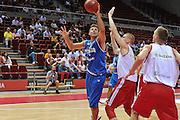 Danzica - Polonia 03 Agosto 2012 - TORNEO INTERNAZIONALE SOPOT CUP - Italia Lettonia<br /> Nella Foto : STEFANO MANCINELLI<br /> Foto Ciamillo