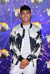 Karim Zeroual arriving at the red carpet launch of Strictly Come Dancing 2019, held at BBC TV Centre in London, UK.