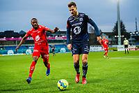 Fotball , 23 Februar 2019 , Treningskamp , Kristiansund - Brann , Gilbert Koomson og Christoffer Aasbak<br /> <br /> <br /> , Foto: Marius Simensen, Digitalsport
