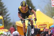 Arrival George Bennett (NZL - Team LottoNL - Jumbo) during the 101th Tour of Italy, Giro d'Italia 2018, stage 14, San Vito Al Tagliamento - Monte Zoncolan 181 km on May 19, 2018 in Italy - Photo Ilario Biondi / BettiniPhoto / ProSportsImages / DPPI