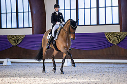Kronberg, Gestüt Schafhof, KRONBERG _ Int. Festhallen Reitturnier Schafhof Edition 2020,<br /> <br /> RICHTER Ellen (GER), Vinay<br /> Preis der Liselott Schindling Stiftung<br /> Piaff-Förderpreis - Einlaufprüfung<br /> U25 Grand Prix<br /> Dressurprüfung Kl.S***<br /> <br /> 19. December 2020<br /> © www.sportfotos-lafrentz.de/Stefan Lafrentz