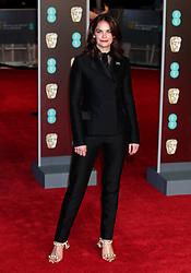 Ruth Wilson attending the EE British Academy Film Awards held at the Royal Albert Hall, Kensington Gore, Kensington, London.