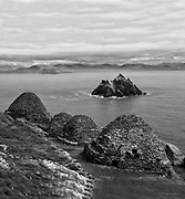 Skellig Michael, a Unesco World Heritage site off County Kerry, Ireland.<br /> Picture by Don MacMonagle